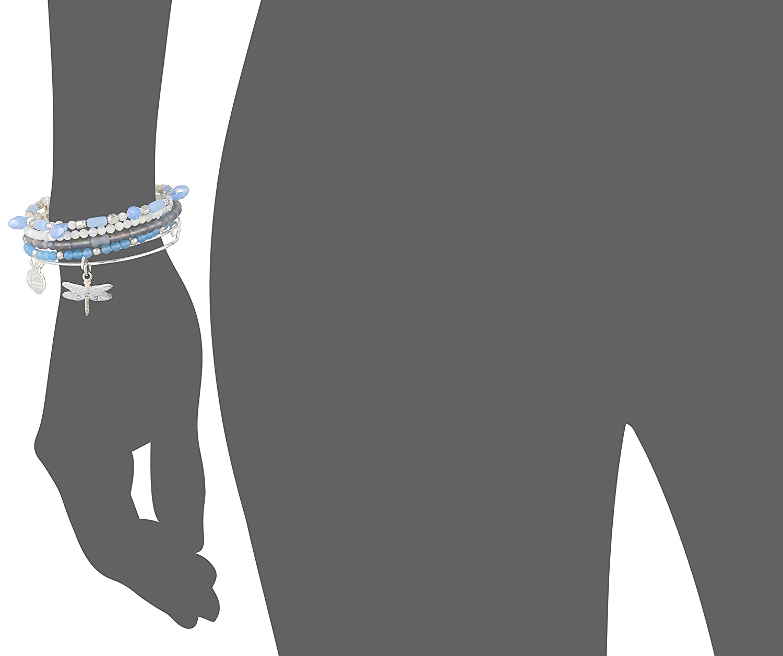 Alex Ani Dragonfly Rafaelian Bracelet Image 2