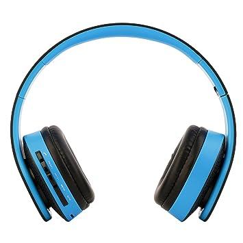 Tsing Auriculares de diadema inalámbricos con micrófono integrado Auriculares estéreo Bluetooth, tecnología NX8252 CVC Auriculares