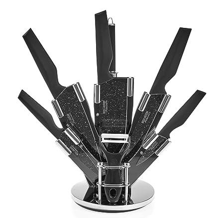 ROSS Henery – Set di coltelli da cucina professionali in blocco ...