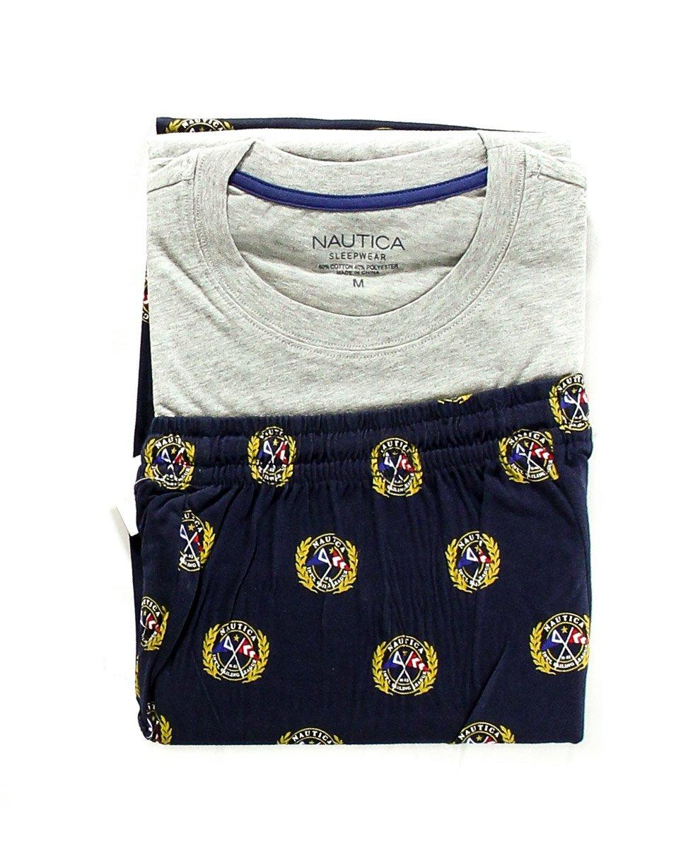 Nautica Men's Novelty Pajama Pants Pajama Pants (Medium, Blue)