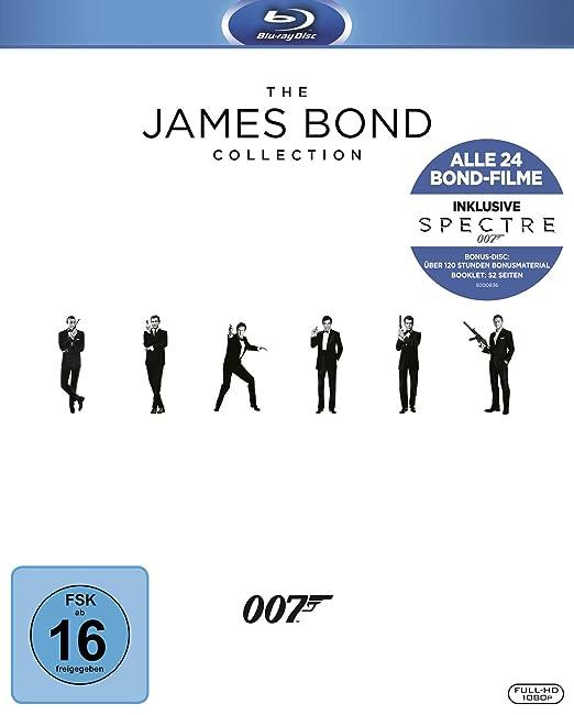 James Bond Collection - Blu Ray