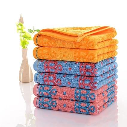 Toallas Conjunto de 6 Toallas de algodón puro Hotel familiar Baño Toalla Toalla para el cabello