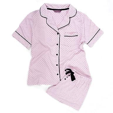 Foxbury 2Tone Soft Fleece Novelty Twosie Pyjama Set