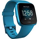 Fitbit Versa Lite Health & Fitness Smartwatch with Heart Rate, 4+ Day Battery & Water Resistance, Marina Blue/Marina Blue Aluminum