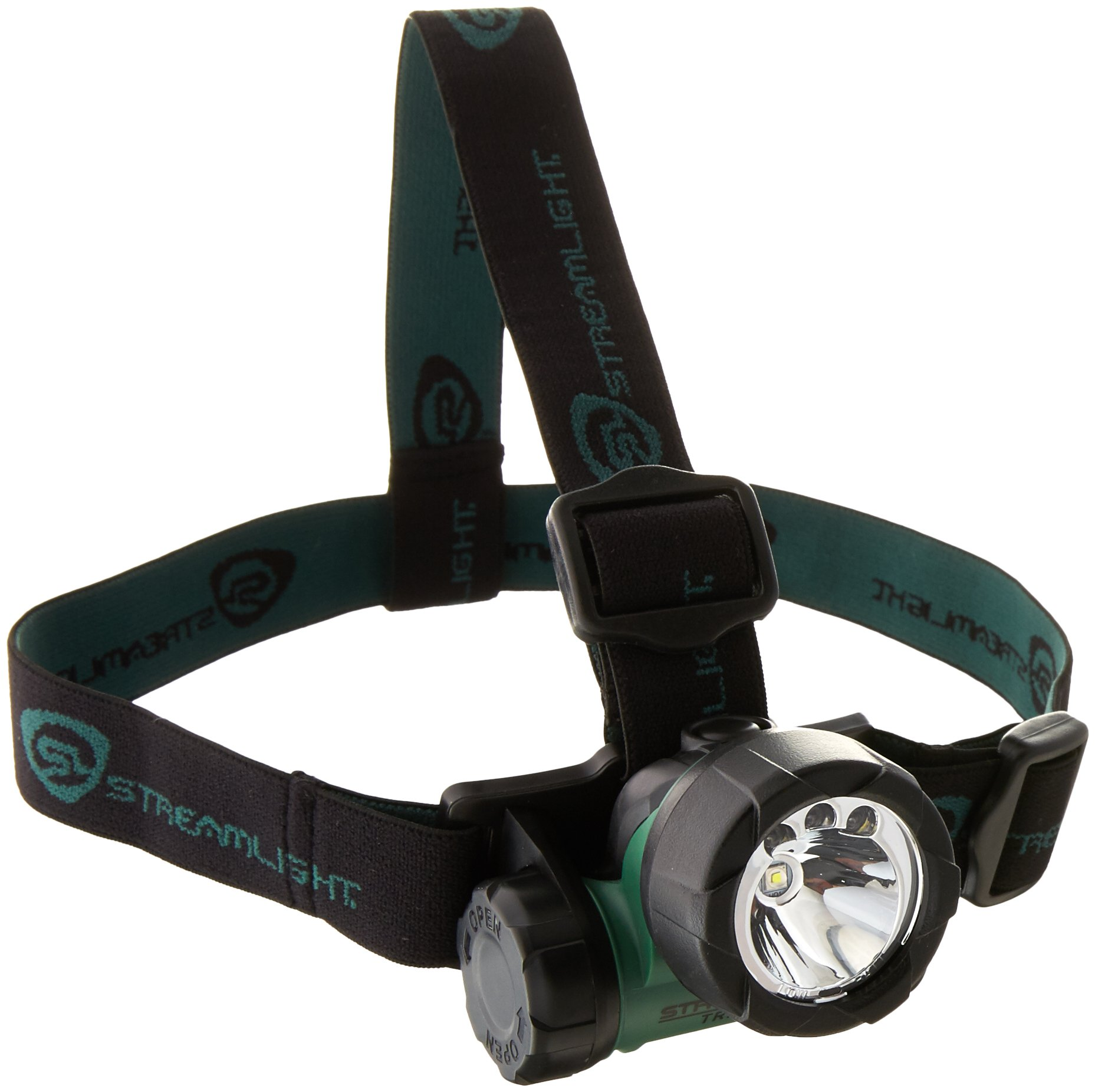 Streamlight 61051 Trident Headlight with 1 Green LED & 2 White LEDs (Batteries Included)
