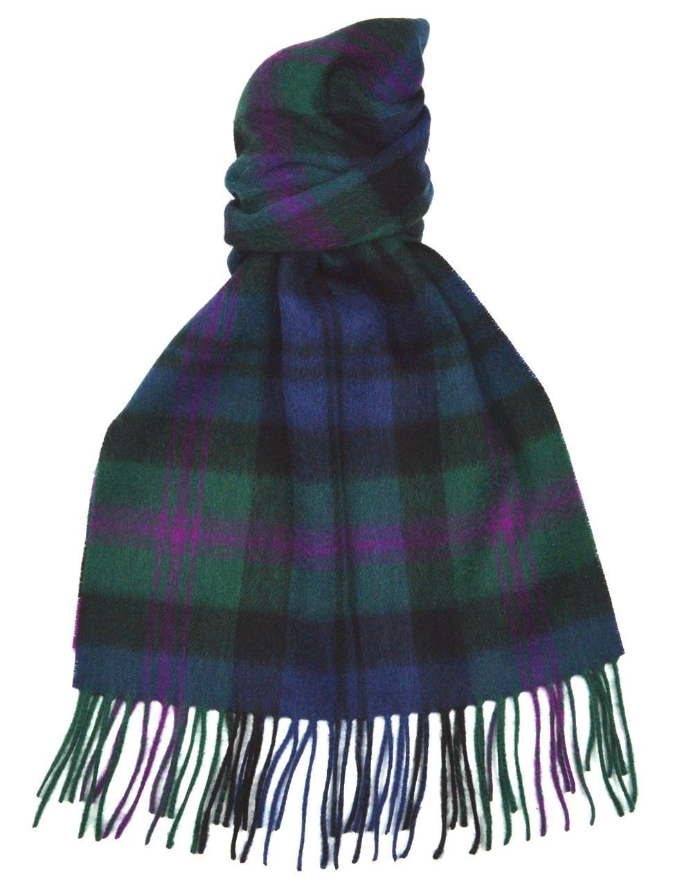 Lambswool Scottish Baird Modern Tartan Clan Scarf Gift