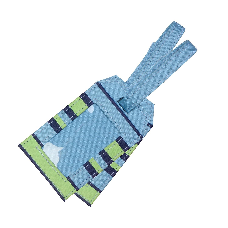 Content&Calm Traveller Luggage Tags (Blue Stripe) BI004/5