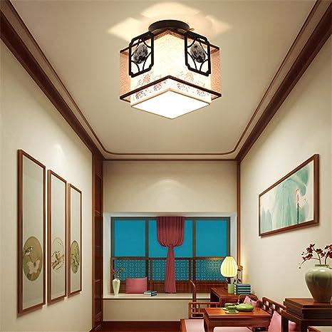 Lámparas Estilo Vintage Iluminación techo de Modern Larsure YEH9WDI2