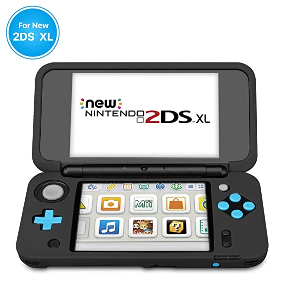 lowest price ba956 0bc09 Amazon.com: TNP New Nintendo 2DS XL Silicone Case - Soft Rubber ...