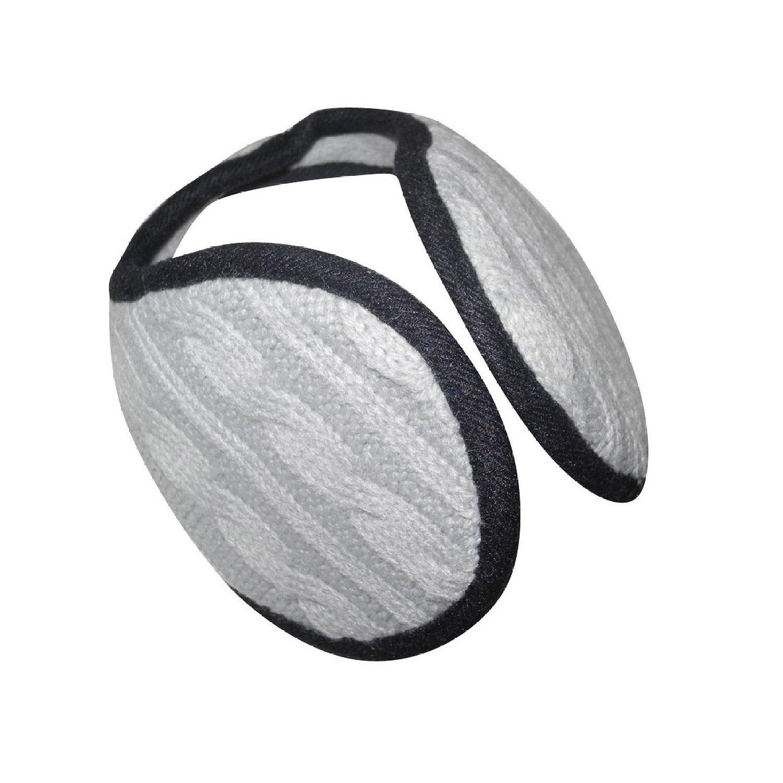 Unisex Premium Quality Warmer Winter Ski & Schnee Knit Wolle Ohrenschützer / Ohrabdeckungen / Ohrwärmer - Einheitsgröße - Grau