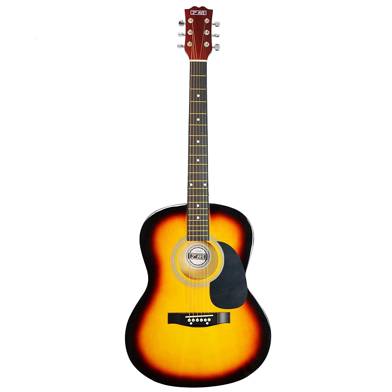 3rd Avenue STX10ABKPK2 Paquete Premium de Guitarra Ac/ústica Pack Premium Ac/ústico Negro