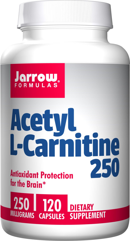 Jarrow Formulas - Acetyl-L-Carnitine, 250 mg, 120 capsules