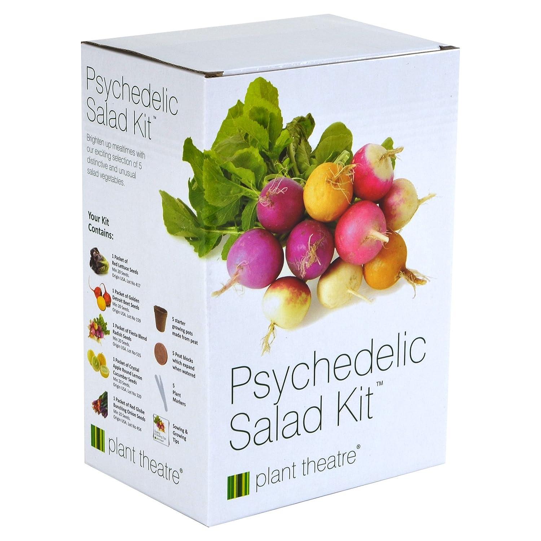 amazon com plant theatre psychedelic salad kit 5 fantastic