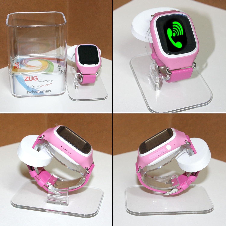 Swiss-Pro ZUG - Reloj inteligente infantil (pantalla IPS ...