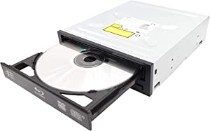 HAZYYO Desktop Internal 12x Bluray Combo Drive Bluray Player CH40N DVD/CD Burner Writer Drive + Sata Cable Kit