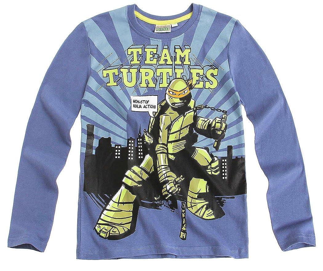 Tortues Ninja tee Shirt Manga Larga para niño Tortugas Ninja ...