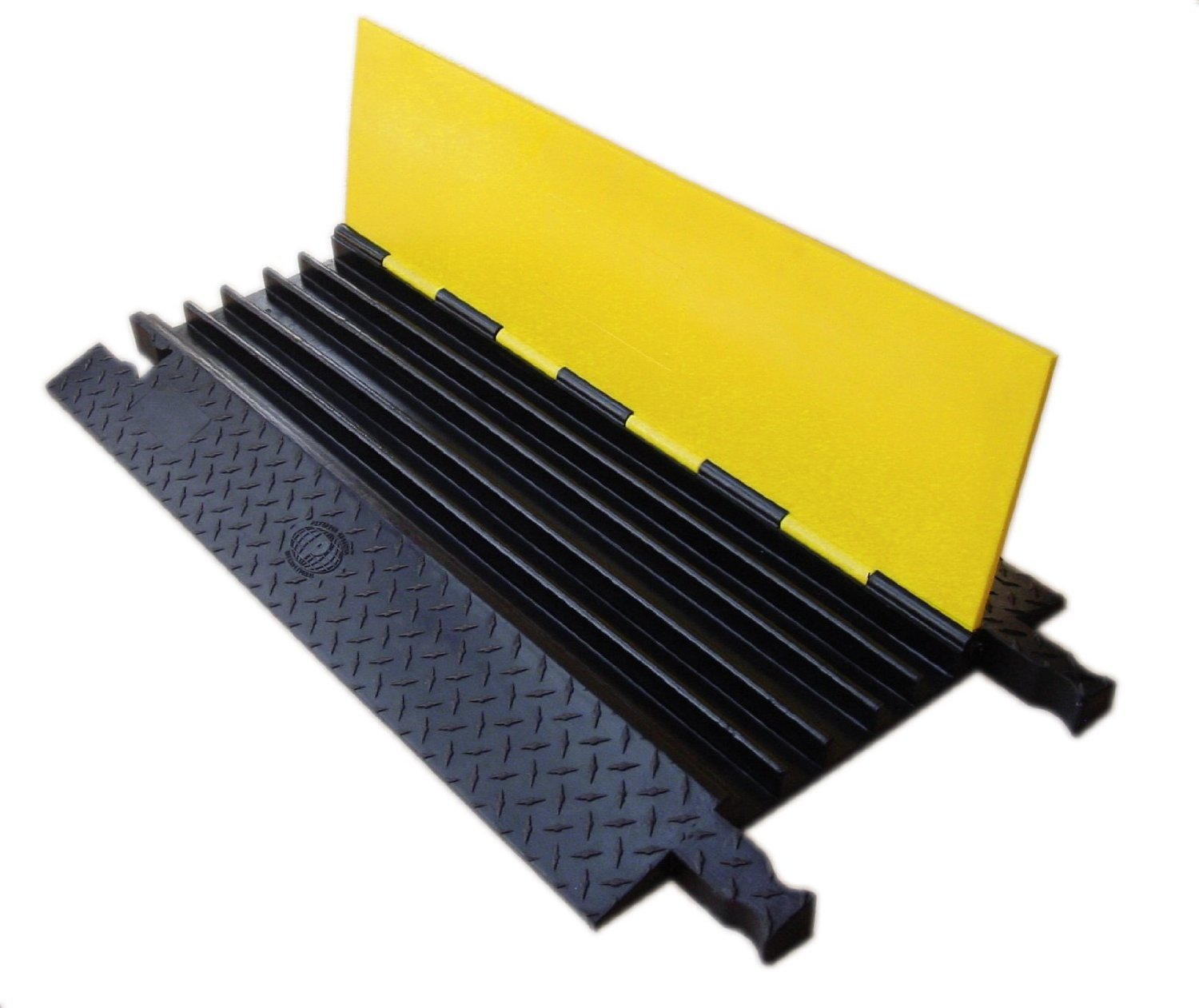 Yellow Jacket Cable Protector - 5 Channel | 3 Unit Pack by Electriduct