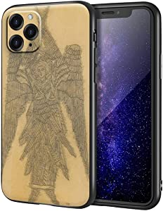 Natalia Goncharova for iPhone 11 Pro Case/Art Cellphone Case/Giclee UV Reproduction Print on Mobile Phone Cover(Study for Stencil of Six Winged Seraph for The Liturgy)