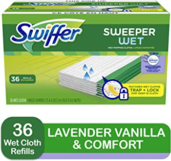 3-Pack Swiffer Sweeper Wet Mopping Cloth Refills