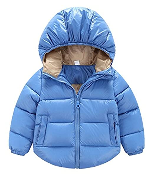 Amazon.com: bebé Baby Boys Girls Puffer Cotton-Padded Coat ...