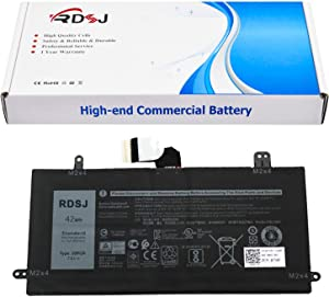 J0PGR Laptop Battery for Dell Latitude 5285 5290 2-in-1 Series JOPGR 1WND8 X16TW 0X16TW 0FTH6F FTH6F 7.6V 42Wh