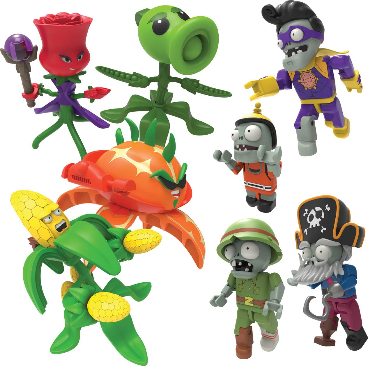 Plants vs Zombies K'nex Mystery Figure Series 4