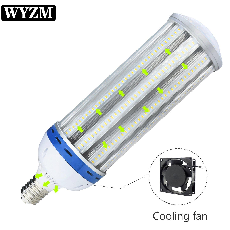 LED Corn Light Bulb,120Watt E39 Mogul Base,5000K White,500-600Watt HPS  Replacement(120 Watts)