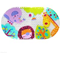 Bath mat Non Slip Safari Kids PVC Shower Bathtub mat for Baby Child