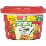 Chef Boyardee Beef Ravioli, 7.5 oz Microwavable Bowls