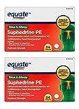 Equate Suphedrine PE Maximum Strength Sinus and