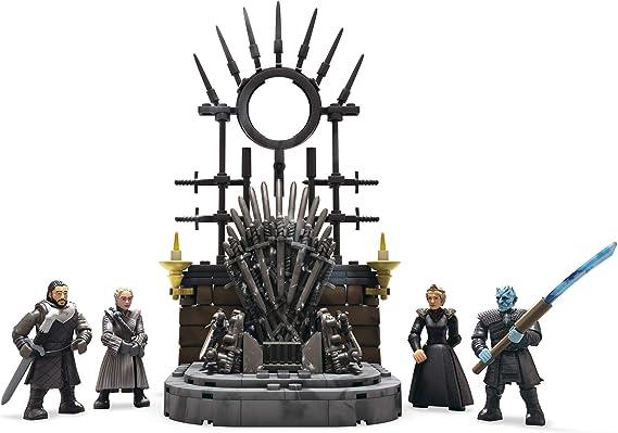 mega construx got john snow night king game of thrones the wall