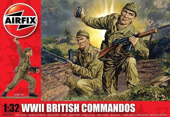7 opinioni per Airfix A02705- Commando Britannico