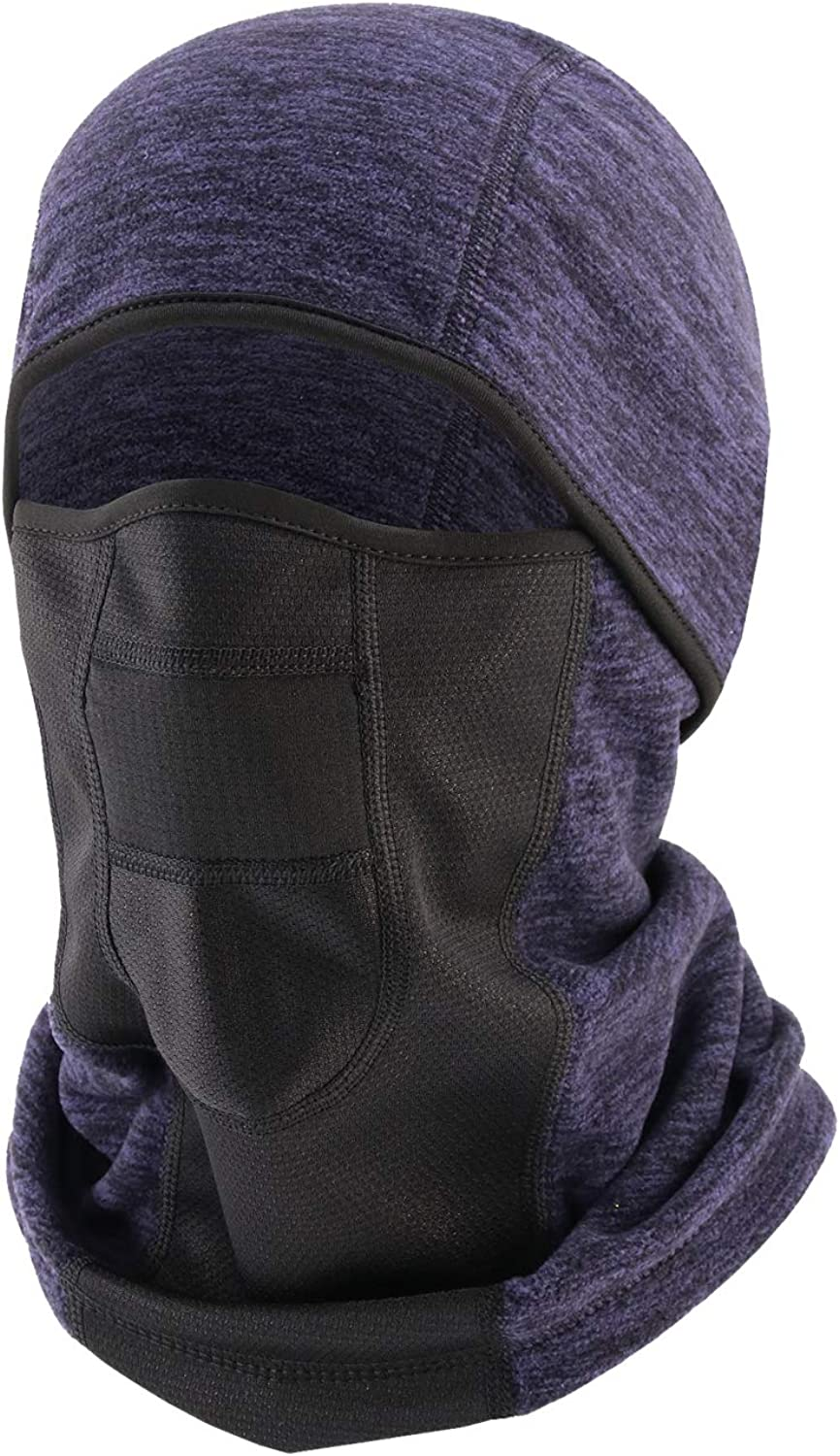 Balaclava Ski Mask - Windproof Winter Face Mask - Fleece Thermal Breathable Mask for Men Women - Skiing Snowboarding