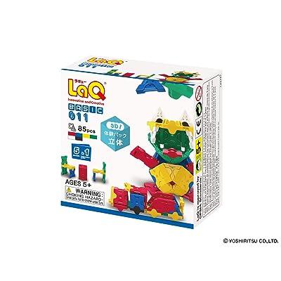 LaQ Basic 011 Cubic Model Building Kit: Toys & Games
