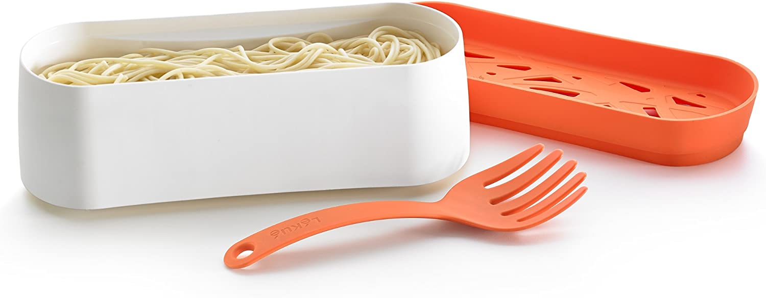 Amazon.com: Lekue – 2-Piece Pasta Cooker Set: Kitchen & Dining