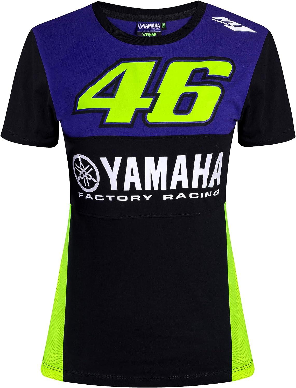 Valentino Rossi Yamaha Dual-Racing T-Shirt Femme