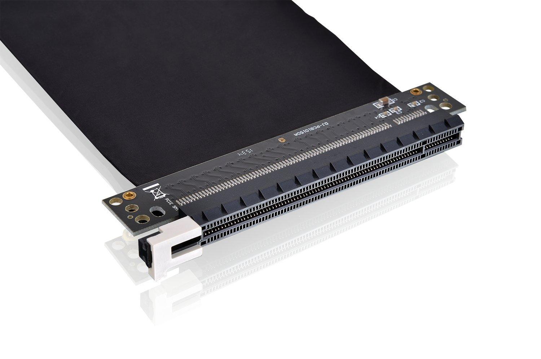 Thermaltake Pci E X16 Riser Karte Kabel Schwarz 200mm Electronic Circuit Design Ideas Kommentar Verfassen Computer Zubehr
