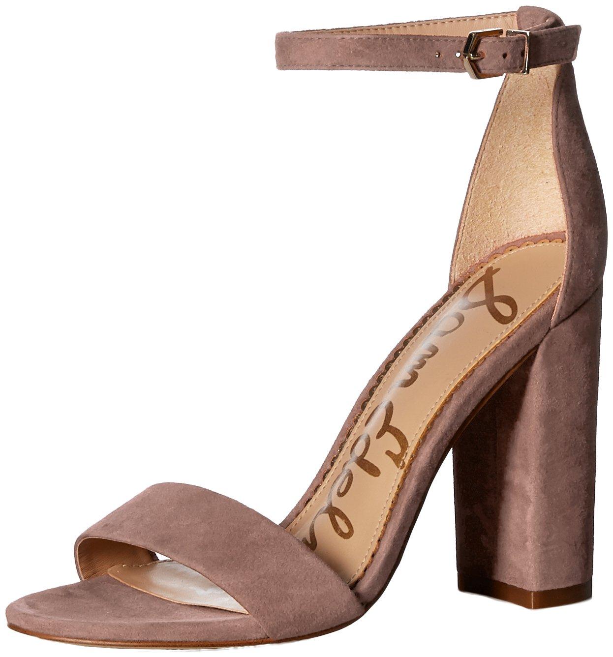 Sam Edelman Women's Yaro Heeled Sandal, Dusty Rose, 6 M US