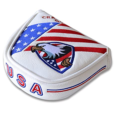 Amazon Craftsman Golf American Eagle Flag Blue Red White