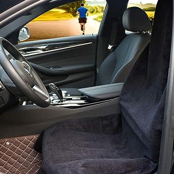 CICMOD 2Pcs Autositz /überzug Auto Vordersitze Universal Wasserdicht Schonbezug Sitzbezug f/ür Fahrersitz Vordersitze Anti-Rutsch