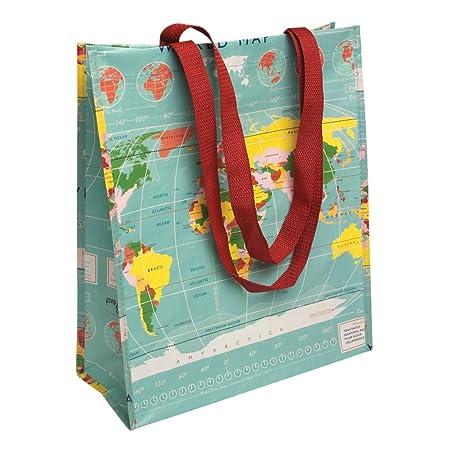 Reusable eco friendly shopping bag choice of design world map reusable eco friendly shopping bag choice of design world map gumiabroncs Choice Image