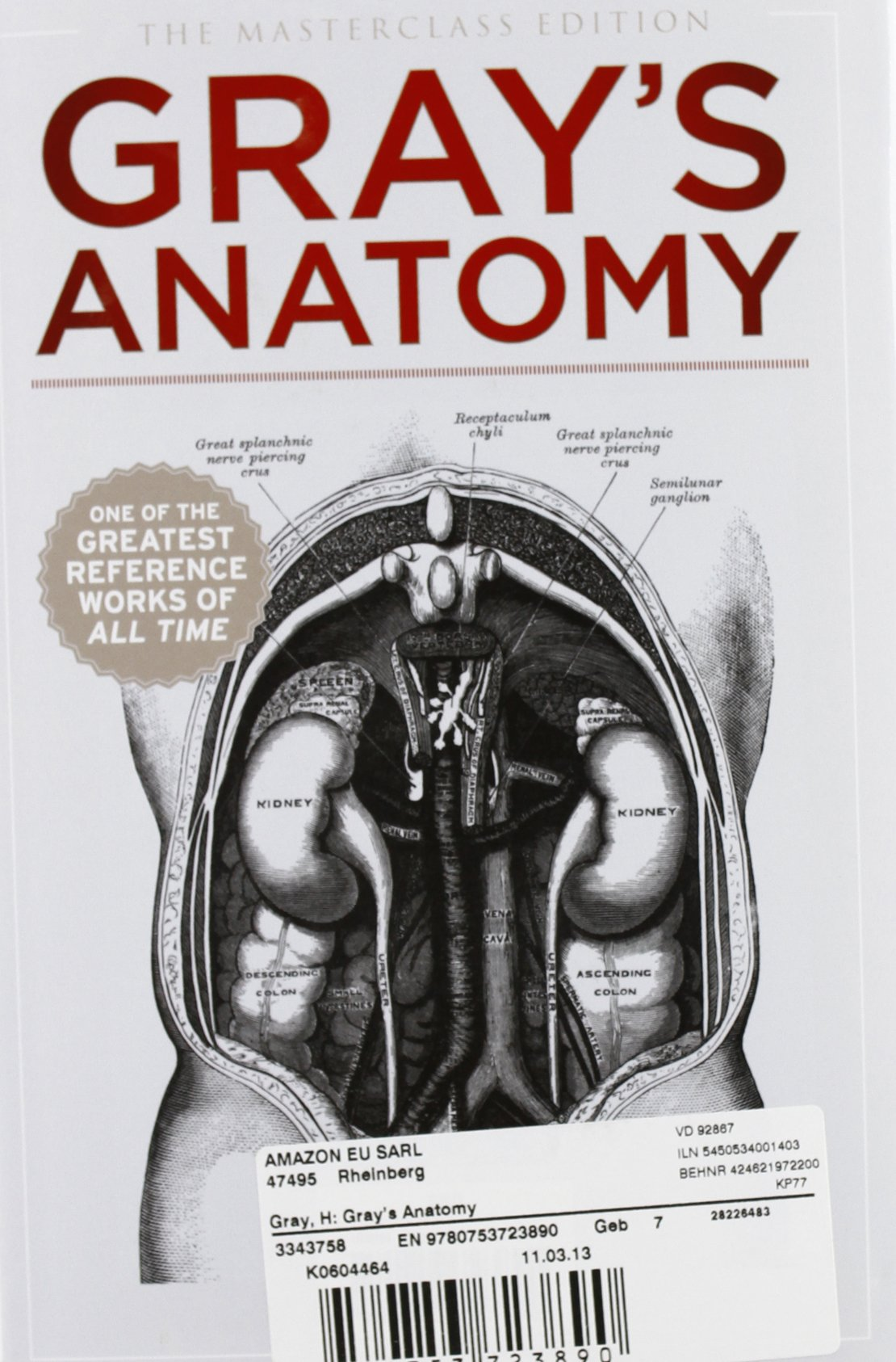Amazon.in: Buy Gray\'s Anatomy Book Online at Low Prices in India ...