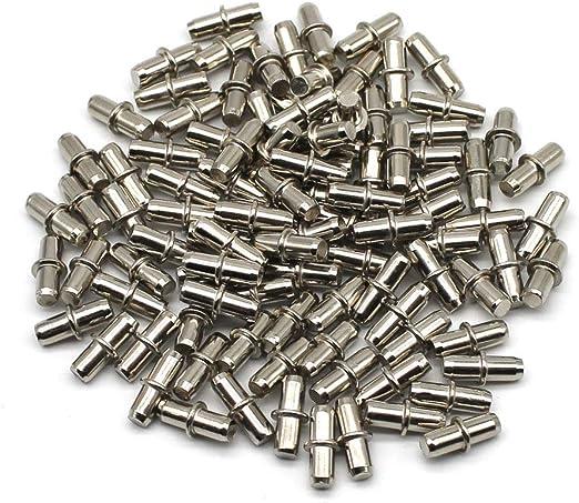24 Stück Regalbodenträger Bodenträger Duplo 5 Regalbodenstifte 5x16mm Metall