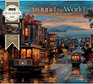 The Lang Companies, 2021 Around The World Special Edition Wall Calendar