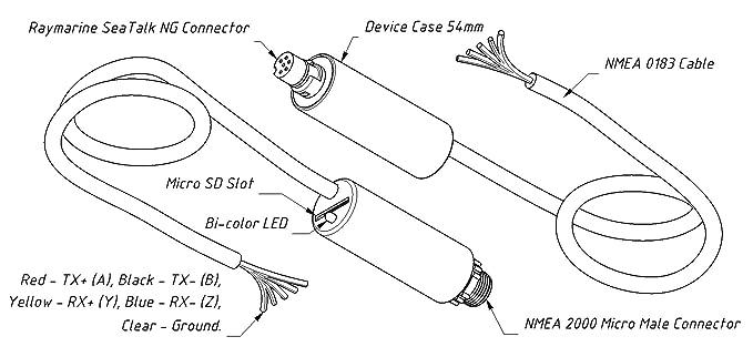 raymarine nmea 0183 cable wiring diagram index listing of wiringnmea 0183 to db9 wiring diagram wiring diagramsamazon com nmea 0183 to nmea 2000 gateway (
