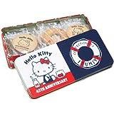 クッキー 泉屋&ハローキティコラボ (詰め合わせ, 角缶 21.50×10×4.70)