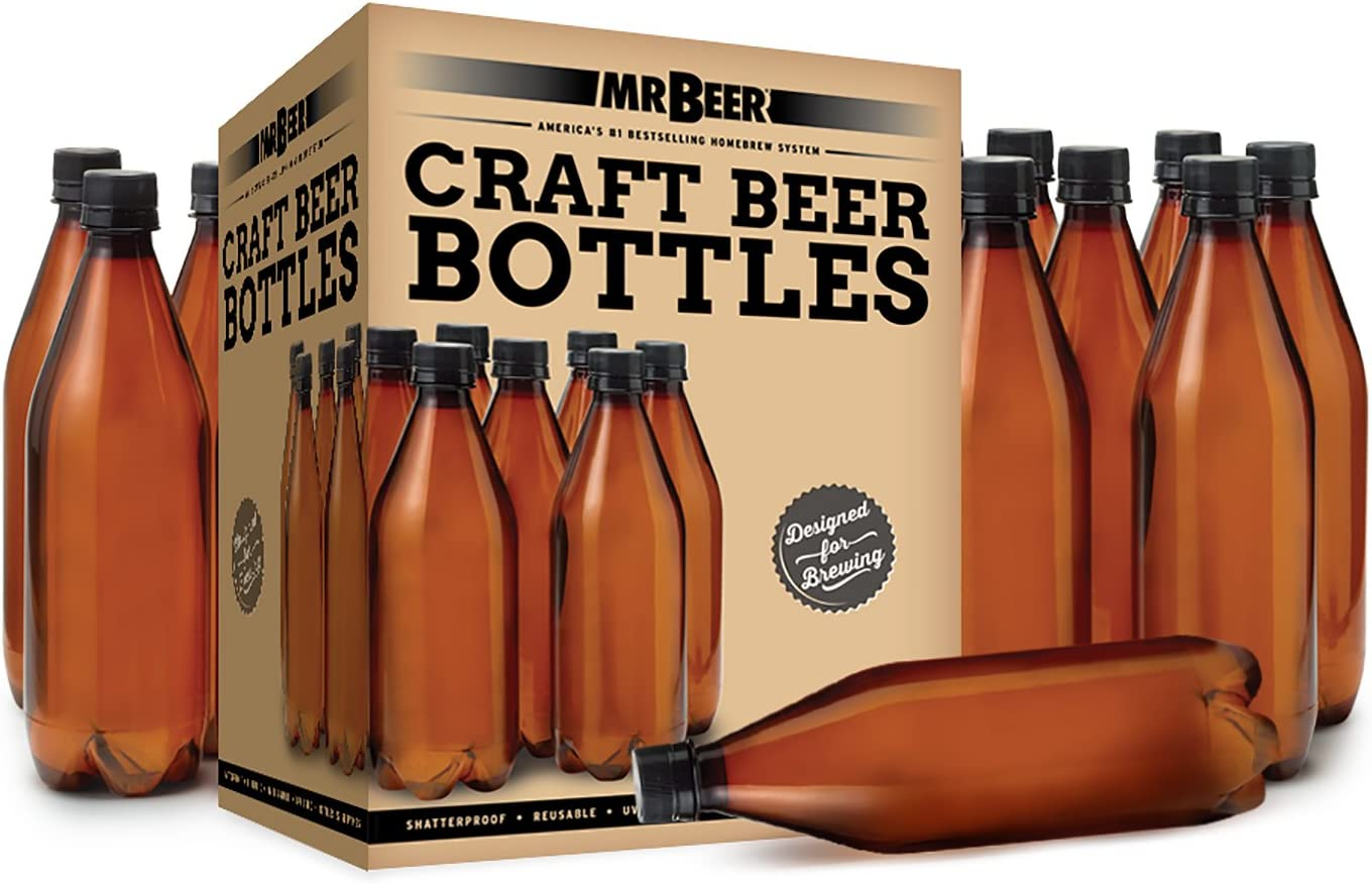 Mr. Beer 740ml Deluxe Homebrewing 2 Gallon Beer Bottling Set