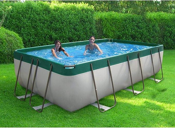 Piscina fuera Terra 320 x 220 cm H100 CM New Plast Diva 350 Kit ...
