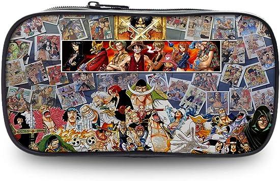 One Piece Estuche de Lápices Exquisita Caja de lápices para niños y niñas con Cremallera Bolsas de lápices de Lona Ligeras (Color : A01, Size : 22 X 4.5 X 11cm): Amazon.es: Equipaje
