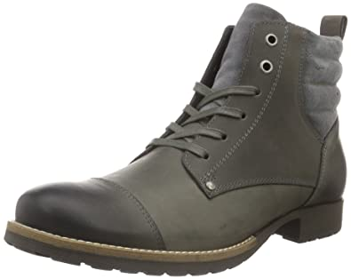 Bianco Casual Boot JJA16, Zapatillas de Estar Por Casa para Hombre, Gris, 40 EU